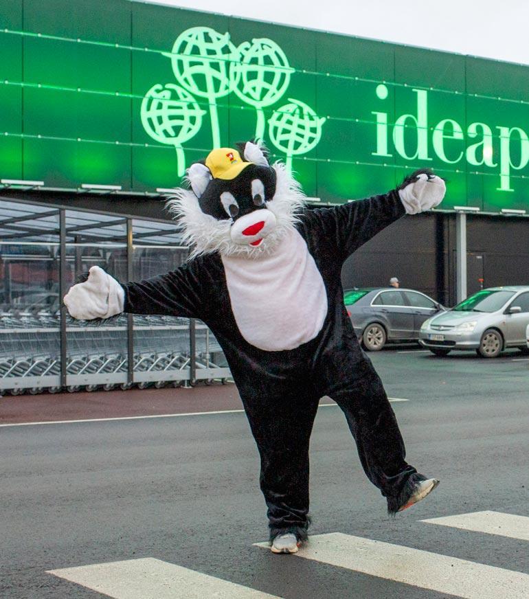 Topi Sukari avasi Suomen kolmannen Ideaparkin marraskuun puolivälissä Seinäjoelle.