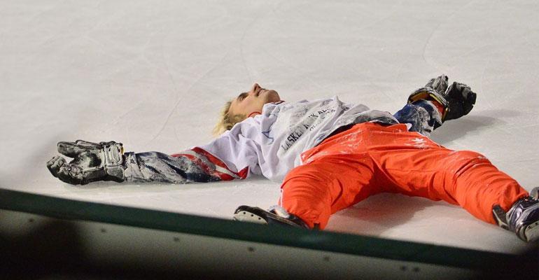 Justin bieber jääkiekko uuvuttaa