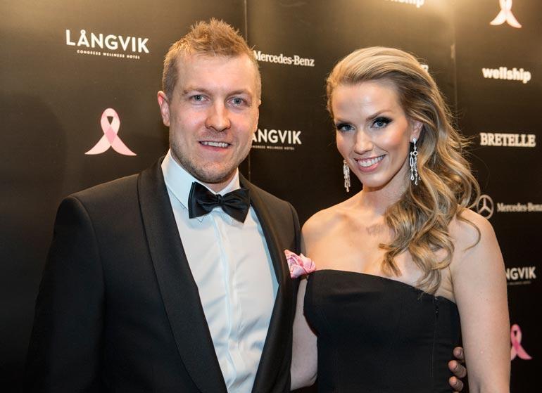 Niklas ja Piritta Hagman olivat naimisissa 2006–2018. Tämä kuva on vuodelta 2015.