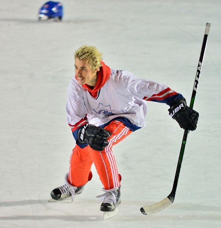 Justin bieber jääkiekko 1