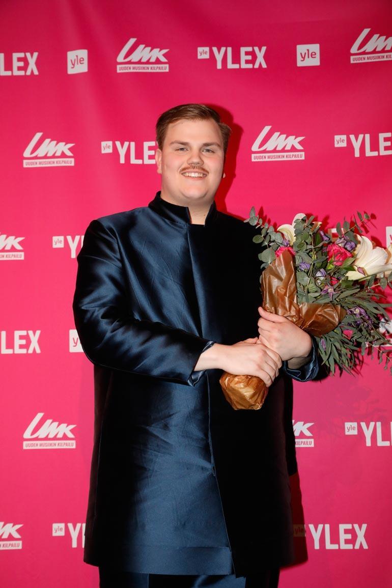Aksel toivoo Euroviisujen avaavan hänelle ovia pysyvämpään musiikkiuraan. – Toi- vottavasti joku haluaisi tehdä kanssani yhteistyötä kilpailun jälkeen.
