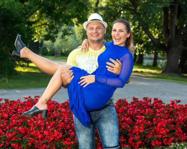 Daniel Lehtonen meni kihloihin Everakkaansa kanssa.