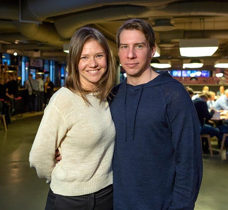 Sonja Kailassaari ja Aku Hirviniemi