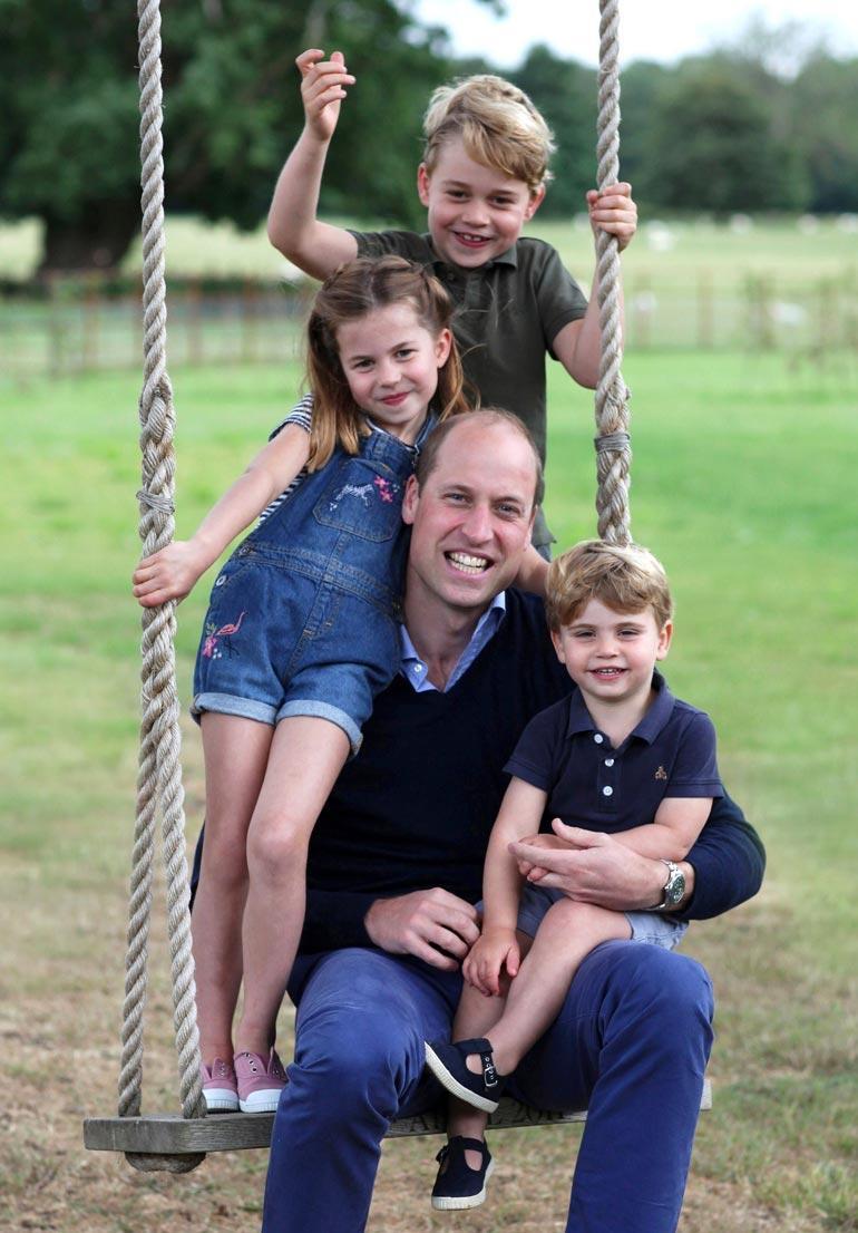 Prinssi William juhlisti toissa viikon sunnuntaina sekä isänpäivää että 38-vuotissynttäriään.