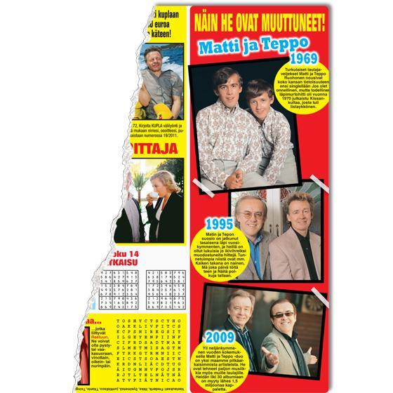 Matti ja Teppo yli 40 vuotta sitten - katso kuva!