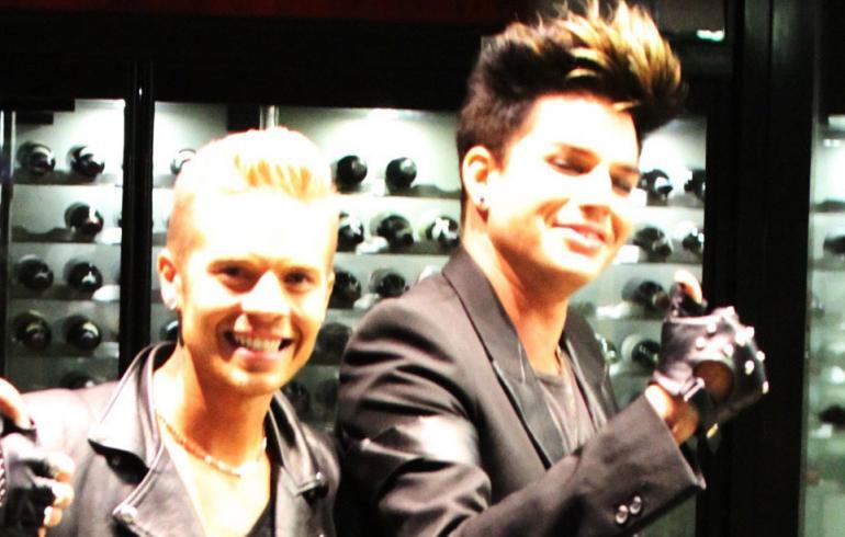 Kiihkeät spekulaatiot - Adam Lambert ja Sauli Koskinen jälleen yhdessä?!