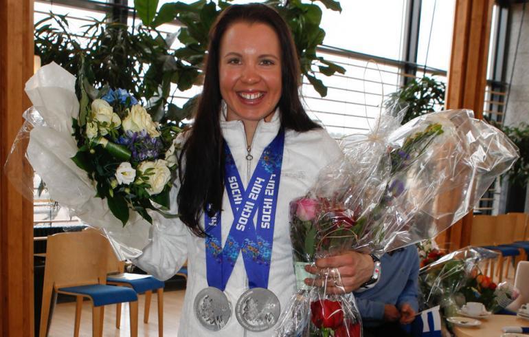 Olympiasankari Kerttu Niskasen kulta on suksiva kersantti!