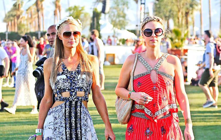Huh, missä asuissa tähdet bilettivät Coachella-festareilla - hottisvaroitus!