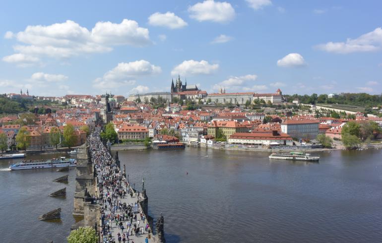Praha – kesälomakaupunki kauneimmillaan!