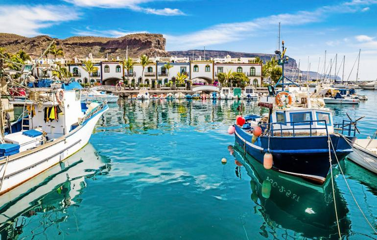 Gran Canarian tuntemattomat helmet