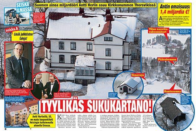 Antti Herlinilla On Tontteja Vaikka Muille Jakaa Tallainen On