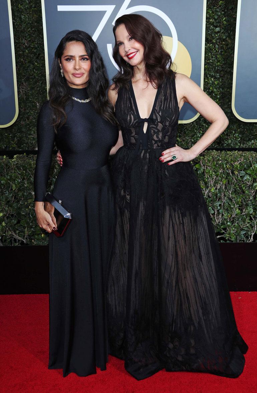 Salma Hayek ja Ashley Judd