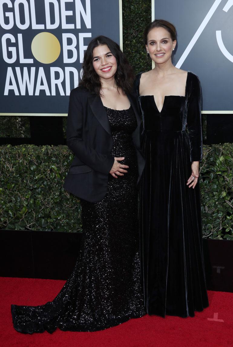 America Ferrera ja Natalie Portman