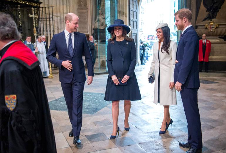 Tyyli sopi täydellisesti herttuatar Catherinen asuun...