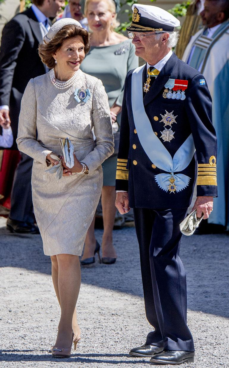 Kuningatar Silvia sai kehut ruotsalaismedialta: hänen klassista tyyliään verrattiin Jacqueline Kennedyyn.