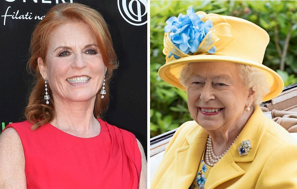 Morsiamen äiti, prinssi Andrew'n ex-vaimo Sarah Ferguson on vuosia ollut hoville punainen vaate. Ääni on kuitenkin muuttunut kellossa sitten Eugenien ja Jackin tammikuisten kihlajaisten, ja kuningatar Elisabet on alkanut lämmetä ex-miniäänsä kohtaan. Toukokuussa Sarah kutsuttiin prinssi Harryn häihin, kesäkuussa hän pääsi Ascotin laukkakisoissa kuninkaalliseen aitioon. Nähtäväksi jää, onko myös prinssi Philip muuttanut suhtautumistaan: hän kun ei voi sietää poikansa räväkkää ex-vaimoa.