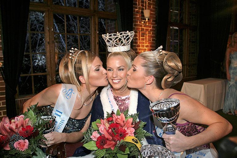 Piritta kruunattiin Miss Skandinaviaksi vuonna 2004.