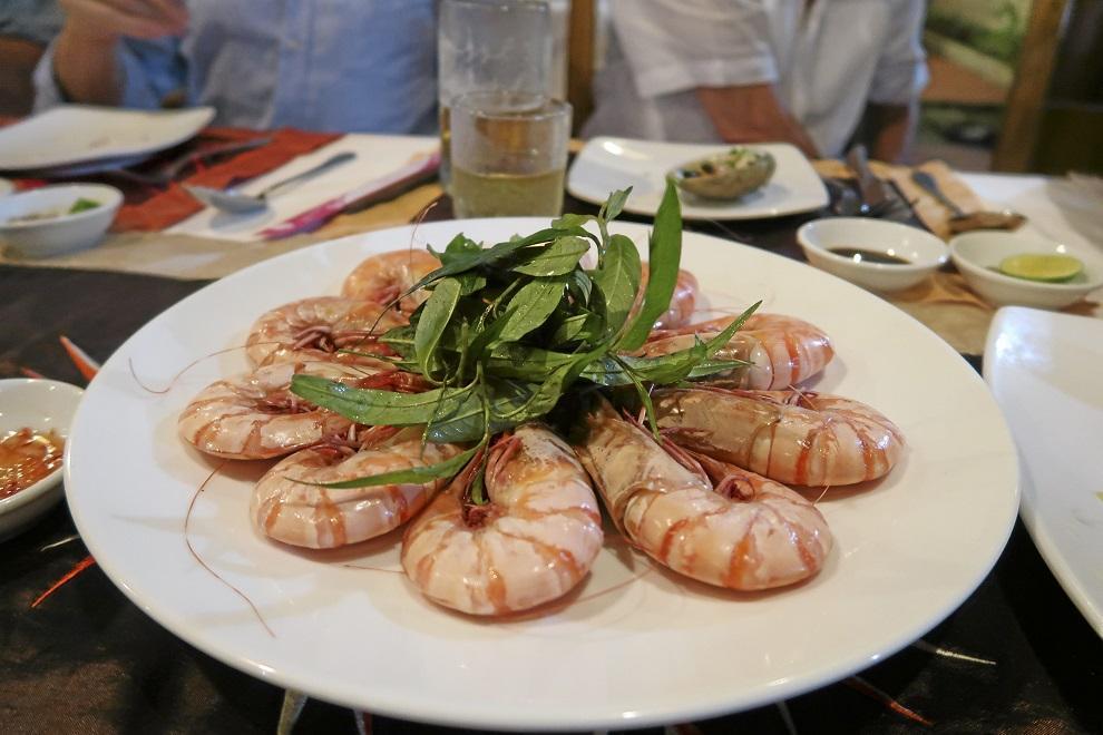 Vietnamissa kannattaa nauttia etenkin meren antimista.