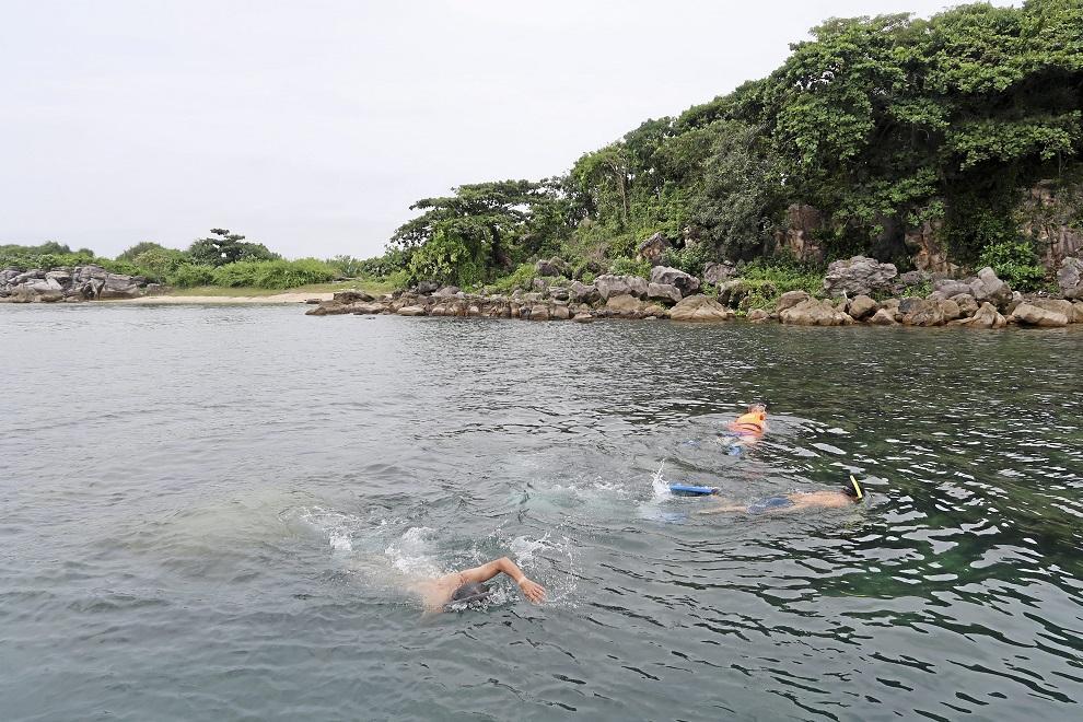 Phu Quocissa kannattaa ehdottomasti mennä snorklaamaan.