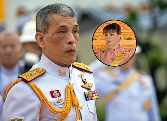 Thaimaan kuningas esti siskonsa ehdokkuuden.