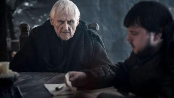 PEter Vaughn nätteli Game of Thronesissa viiden vuoden ajan.