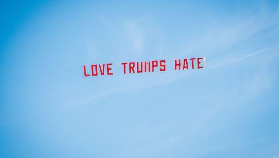 Yhdysvaltain presidentinvaaleille löytyy paljon vihaajia.