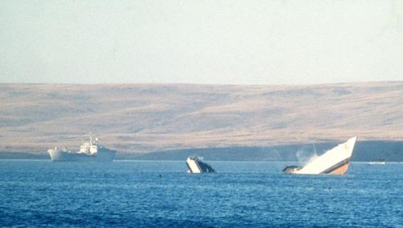 Miehen laiva upposi, kun hänen navigointiin käyttämänsä Wi-Fi katosi.