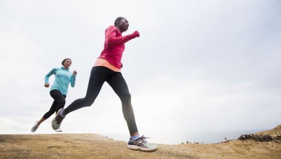 Juokseminen on tehokas lemmenlääke.