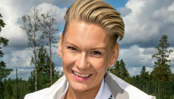 Heidi Sohlberg poseeraa Seiskalle