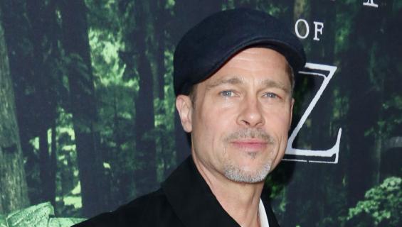 Näyttelijä Brad Pitt