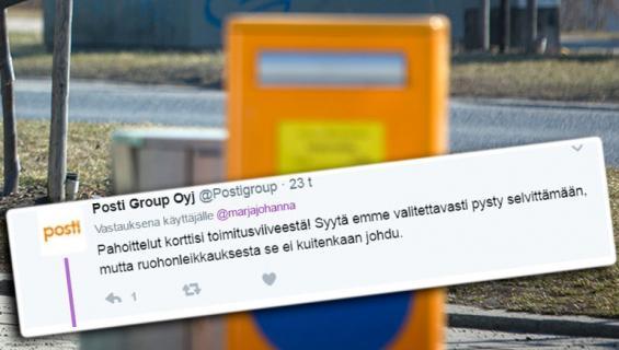 Postilaatikko Helsingissä