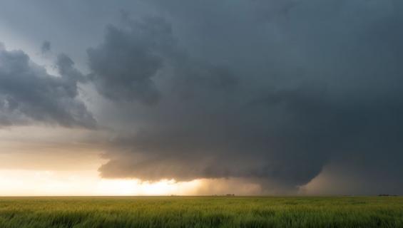 Tornado iski viime viikolla Albertaan, Kanadaan.