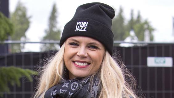 Susanna Laine on vakiokasvo Pori Jazzeilla.