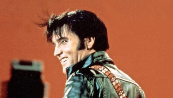 Elvis Presley vuonna 1968.