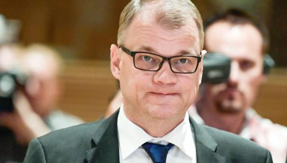 Suomen pääministeri Juha Sipilä.