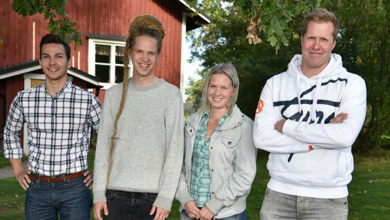Vuoden 2017 Maajussi-nelikko.