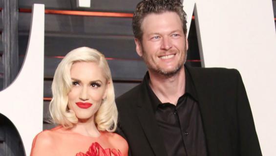 Laulajat Gwen Stefani ja Blake Shelton