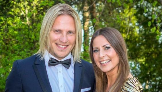 Sami Kuronen ja Mirkka Torikka.