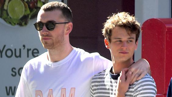 Sam Smith ja Brandon Flynn
