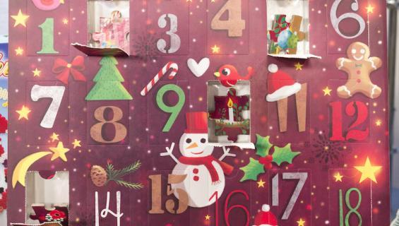 Tänä vuonna tarjolla on tuhma joulukalenteri.
