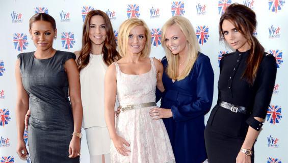 Spice Girls Viva Forever -musikaalin lehdistötilaisuudessa vuonna 2012.