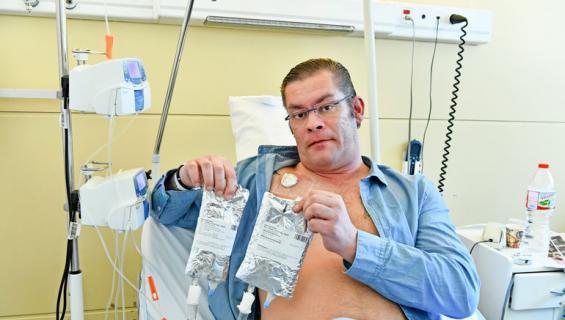 Ilja Janitskin saa syöpähoitoja.