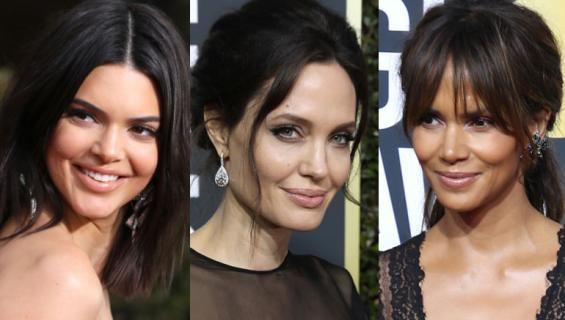 Kendall Jenner, Angelina Jolie ja Halle Berry