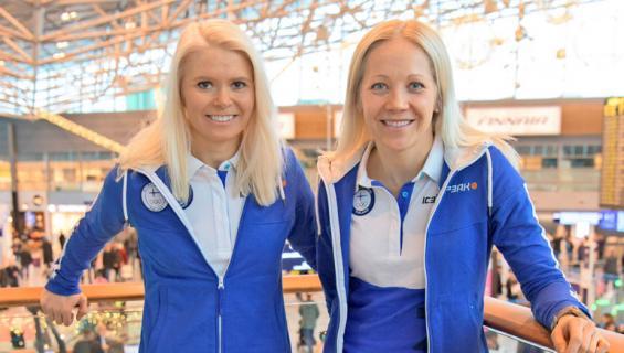 Mari Laukkanen ja Kaisa Mäkäräinen lähtevät olympialaisiin.