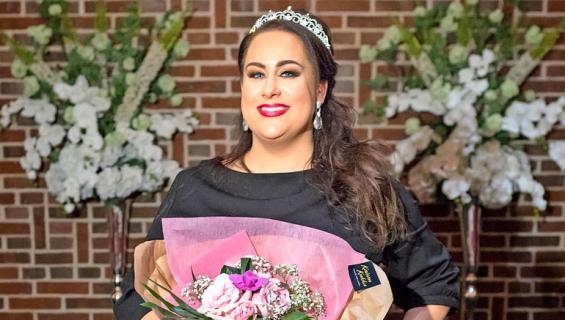 Niina Kuhta voitti Miss Plus Size -kilpailun.
