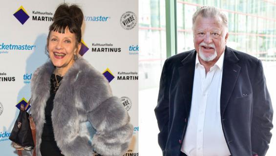 Eeva Eloranta ja Esko Salminen olivat Blondi tuli taloon -sarjan tähtiä.