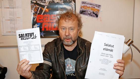 Marko Äijö tuottaa salatut elämät -sarjaa.