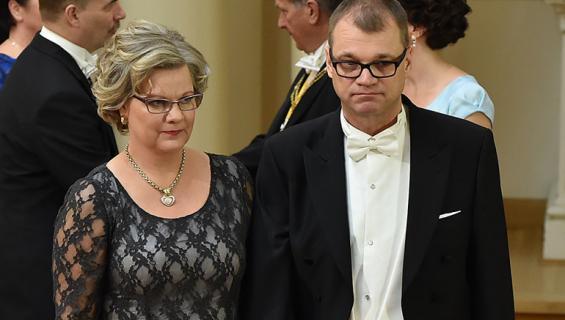 Minna-Maaria ja Juha Sipilä