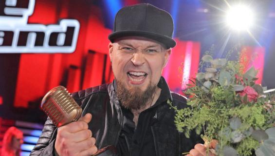 Jerkka Virtanen voitti The Voice Of Finlandin.