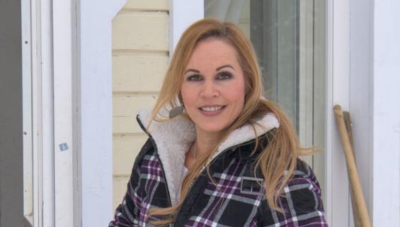 Katja Kätkä esitteli kotinsa.